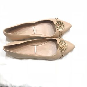 BCBGeneration McKinley Pointed Toe Tan Flats
